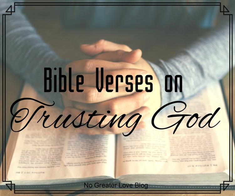 Bible Verses on Trusting God (1)