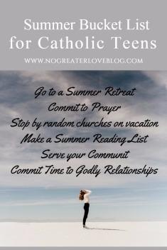Catholic Bucket List