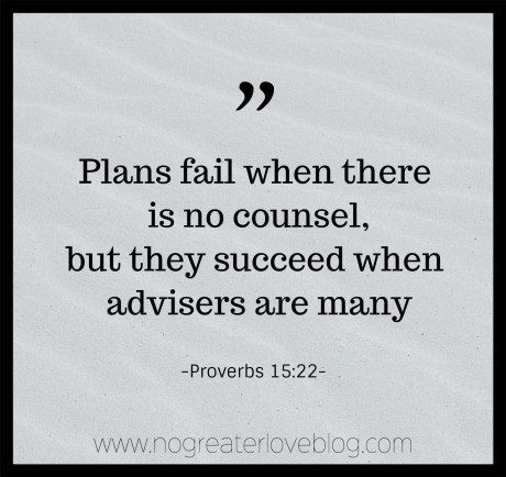 Success lies in many advisers