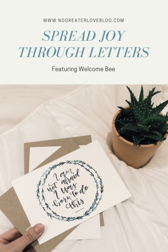 Spread Joy Through Letters