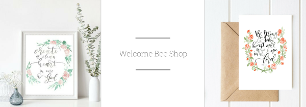 Welcome Bee Shop 2